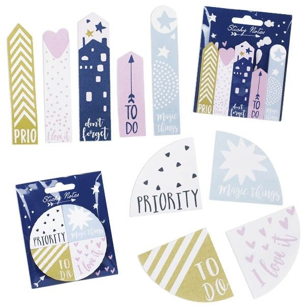 EVERY DAY IS MAGIC Sticky Notes, 2-fach sortiert