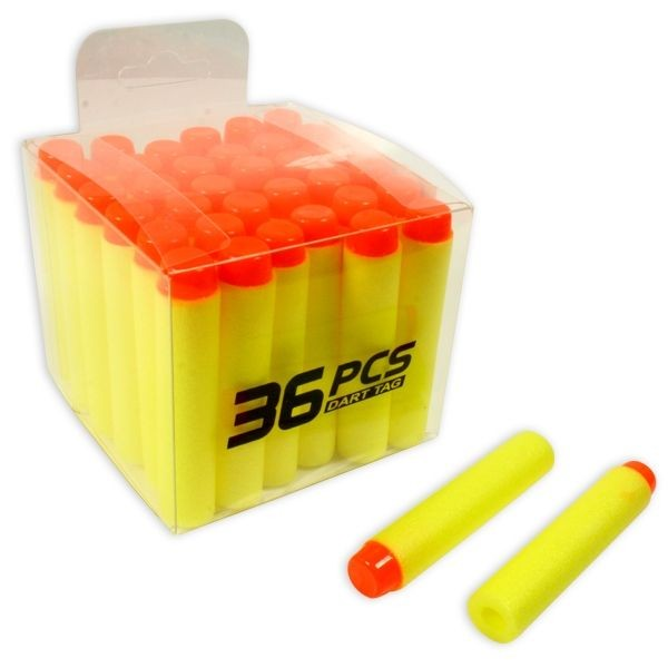 Softair Shooter Munition, Schaumstoff-Pfeile, 36 Stk