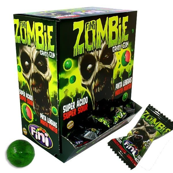 BOOOM & FRIENDS Zombie Candy + Gum 200 Stk GP