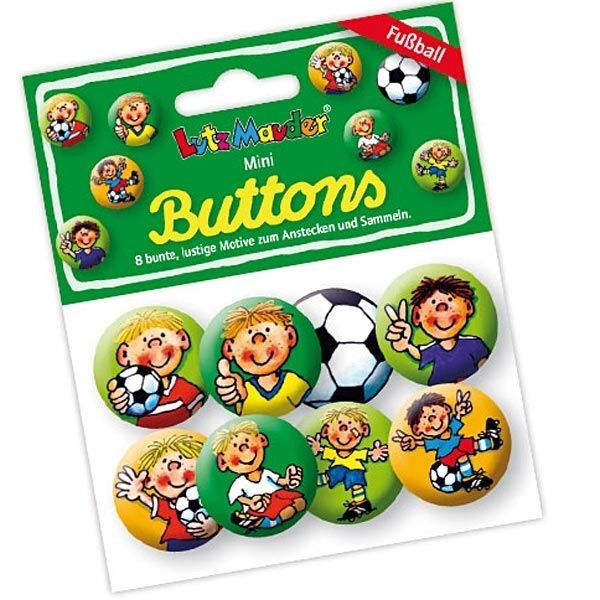 Buttons Mini FritzFlanke 8er,Metall2,5cm