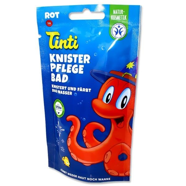 Tinti Knister Pflegebad, rot, 50 g